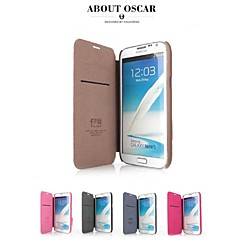 Promotion Four Yu Series Phone Leather Cases for Note 2 N7100(Assorted Colors)