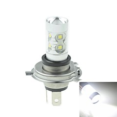 H4 P43T  50W 10xCREE Cold White 3100LM 6500K for Car Fog Light (AC/DC12V-24)