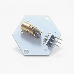 5v 650nm λέιζερ εκπέμπουν module για Arduino - λευκό + χρυσό