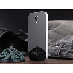 luphie acylic spegel tillbaka täck med aluminium metallram för Samsung Galaxy S4 i9500 (blandade färger)
