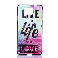beautiful life mustern Hartschalenetui für Samsung Galaxy alpha G850 / g850f