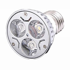 E26/E27 LED Spotlight 3 High Power LED 330 lm Warm White / Cool White Dimmable AC 220-240 V