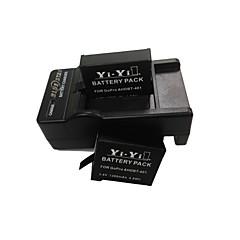 Bluestar ™ ahdbt-401 2 stk * 1280mah batteri + digital batterilader vugge for GoPro HD Hero 4