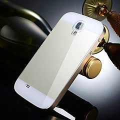Two-in-one KX Brand Metal Frame Acrylic Mirror Backplane Metal Hard Case for Samsung Galaxy S4(Assorted Colors)