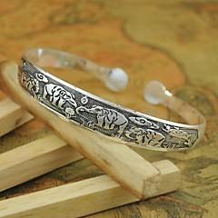 1st mode vintagetibetan ristade silver armband n0.2