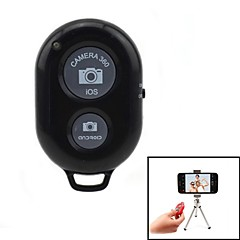 Jtron  Remote Shutter with Tripod Bracket for IOS / Android - Black
