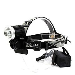 Lâmpadas Frontais (Prova-de-Água) - LED 4.0 Modo 2500 Lumens Cree XM-L T6 - paraCampismo / Escursão / Espeleologismo / Ciclismo / Caça