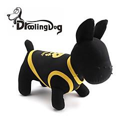 Cat / Dog Shirt / T-Shirt Yellow / Blue / Black Dog Clothes Spring/Fall Skulls / Hearts
