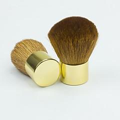 1stk guld støvning børste ansigt makeup nail art kosmetisk værktøj