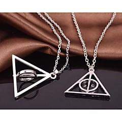 harry potter Luna Lovegood uppståndelse sten vridbar legering film hängsmycke halsband (1 st)