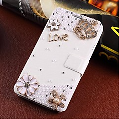 Wind-induced handmade diamond appearance flip phone set is suitable for iphone 4/4s