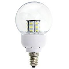 Lâmpada Redonda LED Decorativa E14 5W 380-410 LM K Branco Quente / Branco Frio 27 SMD 5630 DC 12 V