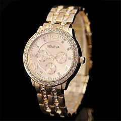 Women's  Fashion Diamond Steel  Watch   Circular High Quality Japanese Watch Movement(Assorted Colors) Cool Watches Unique Watches