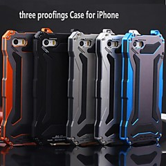 KLW  3 in 1 Metal Waterproof  Dustproof Quakeproof  Case for iPhone 5/5S (Assorted Colors)