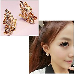 Earring Stud Earrings Jewelry Wedding / Party / Daily / Casual Alloy Gold / White