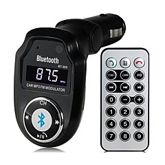 bt-303 multifunktionella bluetooth v2.1 bilmonteringssats mp3-spelare FM-sändare A2DP
