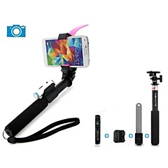 ashutb erweiterbar bluetooth Einbeinstativ Selfie Stick für Android, iOS-Geräte und gopro Kamera
