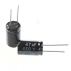 Electrolytic Capacitor  47UF 450V (5pcs)