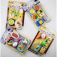 kookgerei vormige gum set (willekeurige kleur)