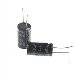 Electrolytic Capacitor 6800UF 25V (2pcs)