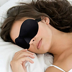3D Nero visiera sonno Patch