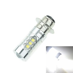 PX15D T19 P15D-25-1 80W 16xCREE Cold White 4500LM 6500K for Motorcycle  Brake Light (AC/DC12V-24)