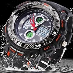 air tahan getah tentera analog-digital paparan sukan jam tangan lelaki (warna pelbagai)