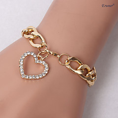 Eruner®LOVE Set Auger Thick Chain Bracelet Jewelry