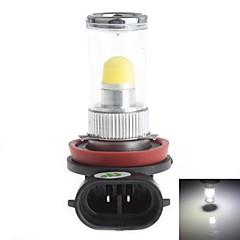 HJ H8 8W 700LM 6000-6500K 1x3D LED White Light Bulb for Car Fog Light (12-24V,1 Piece)