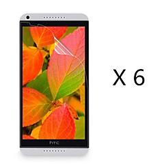 (6 pièces) haute définition de protection d'écran pour HTC Desire 816