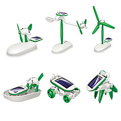 DIY 6 in 1 Lasten Educational Solar Robot Kits
