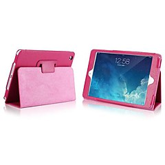 olid Color Thin PU with Stand Auto Sleep and Wake Up for iPad mini 1/2/3 (Assorted Colors)