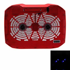 N136F2 High Performance Super Slim Notebook Cooling Pad with Two Fans