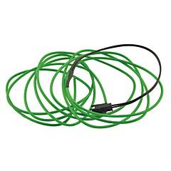 자동차 자동차 2m 길이가 2.3mm 직경 유연한 엘 와이어 네온 빛 스트립 rope- (12V)
