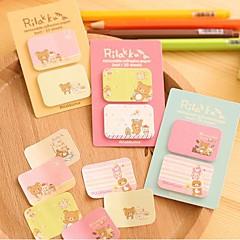 cartoon beer zelfklevende notes set (1 stuks willekeurige kleur)