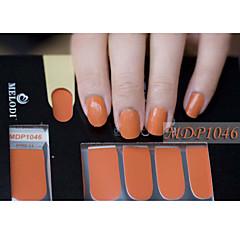 14pcs pure kleur nail art stickers mdp1046