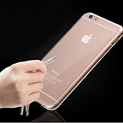 Ultra Thin Clear Crystal Rubber TPU Soft Case for iPhone 6/6S