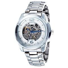 Men's Skeleton Dial Steel Strap Automatic Waterproof Mechanical Watch(Assorted Colors)