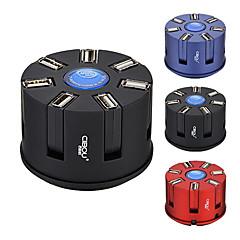 cibou CBO-007 alles in een extensie stopcontact met USB-hub 2.0 kaartlezer 5v geassorteerde kleuren