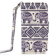 Elephant Pattern Full Body Case with Stand for iPhone 4/4S