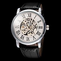 otomatis nomor roman mekanik pria forsining® yang berongga kulit menonton panggil wrist band (berbagai macam warna)