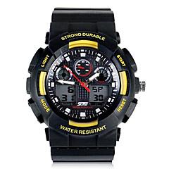 Skmei® Men Fashion Climbing Dual Time Zone Multifunction Wrist Watch 30m Waterproof Assorted Colors Cool Watch Unique Watch