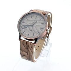 Lureme® Men's Vintage Copper Digital Wood Watchband Quartz Wrist Watch(Assorted Colors) Cool Watch Unique Watch