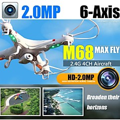 TK M68 4CH 2.4G 6 Axis RC Drone Easy Control Quadcopter with Built-in HD Camer