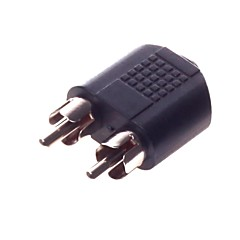 3.5 mm Interface Female  to RCA *2M  Adapter Connector  Video Transmission