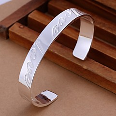 925 Silver LOVE Opening Bangles