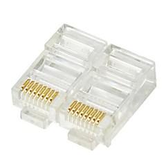 RJ45 Network Crimp Plugs 8P8C (20-pcs retail box set)