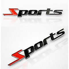 Car Stickers for Metal Letters Sports