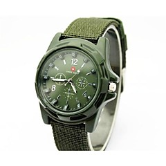Men's watch Swiss Army Woven Strap Quartz Watches