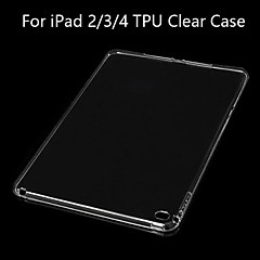 BIG D TPU Clear Soft Back Case for iPad 2/3/4(Assorted Color)